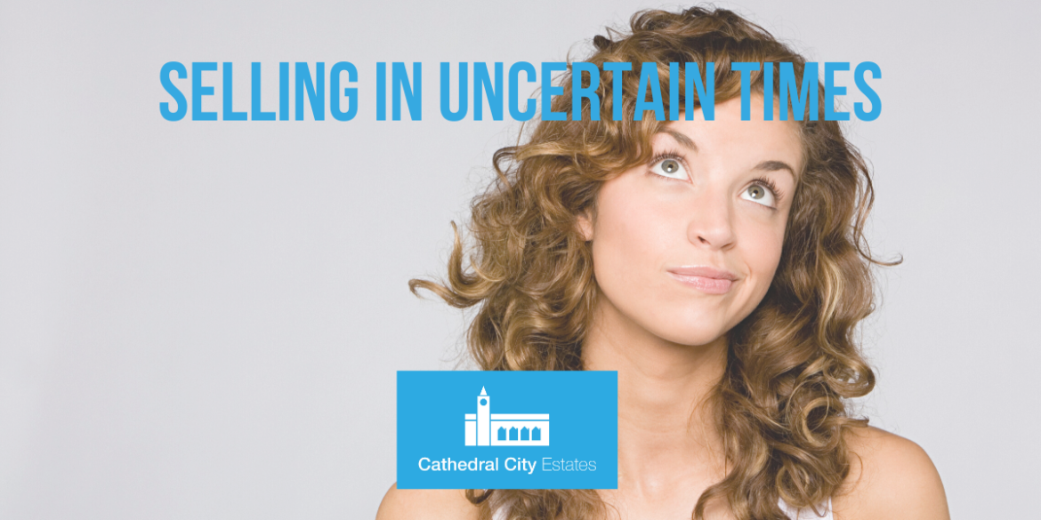 Selling your home in an uncertain time