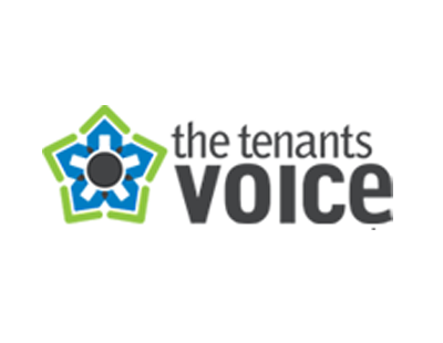 The Tenants Voice logo