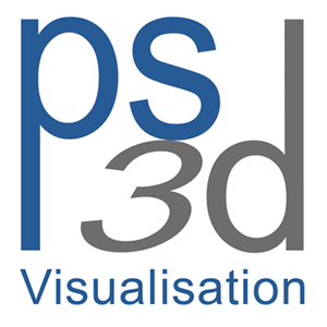 PS3D Visualisation logo